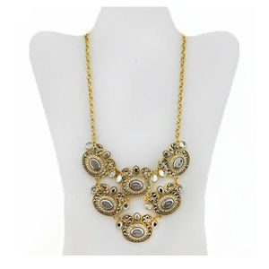 INTERNATIONAL CONCEPTS Tribal Stone Necklace$40.00
